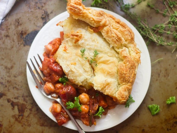 Chickpea Ragoût Pot Pie