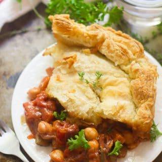 Chickpea Ragoût Pot Pie