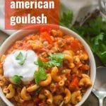 Vegan American Goulash