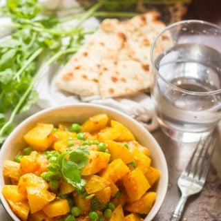 Bombay Potatoes and Peas