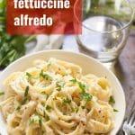 Cauliflower Fettuccine Alfredo
