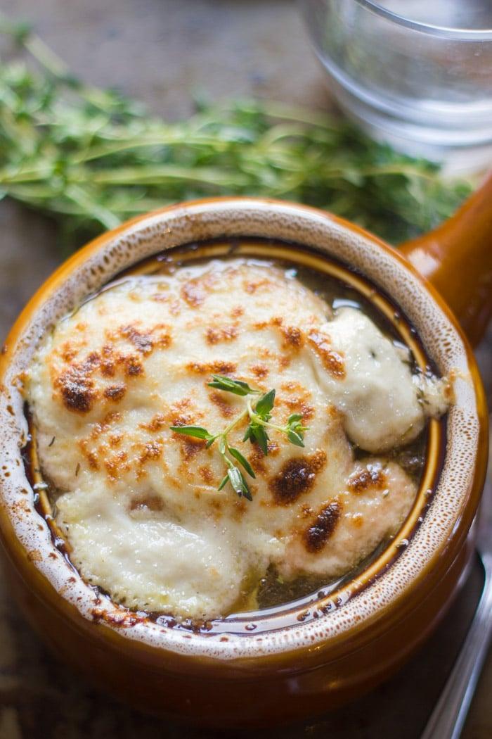 Vegan French Onion Soup Connoisseurus Veg