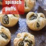 Vegan Spinach Puffs