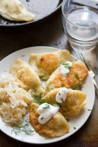 Caramelized Onion & Potato Pierogies