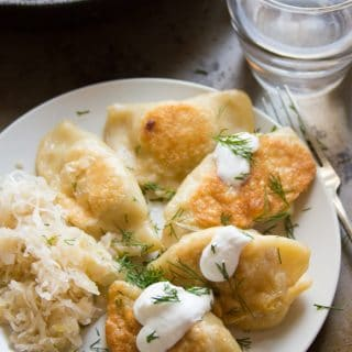 Caramelized Onion & Potato Pierogies