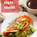 Stuffed Vegan Omelet