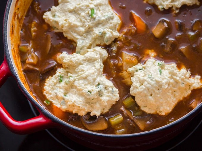 Vegan Irish Stew With Savory Herb Dumplings Connoisseurus Veg