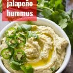 Roasted Jalapeño Hummus