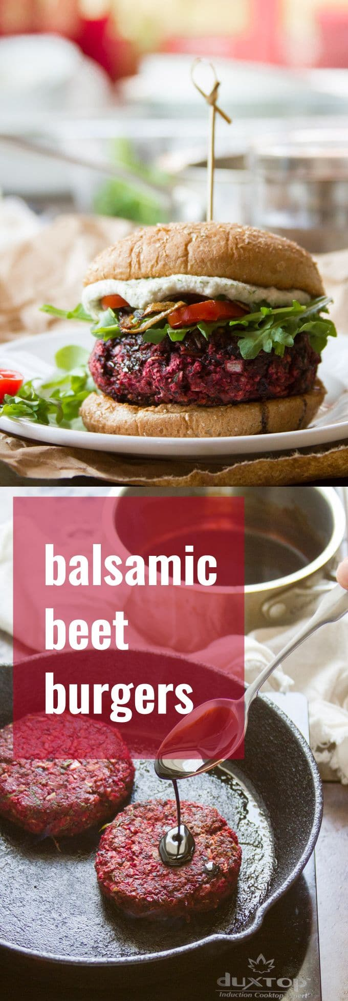 Balsamic Beet Burgers