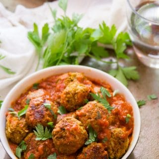 Italian-Style Lentil Meatballs