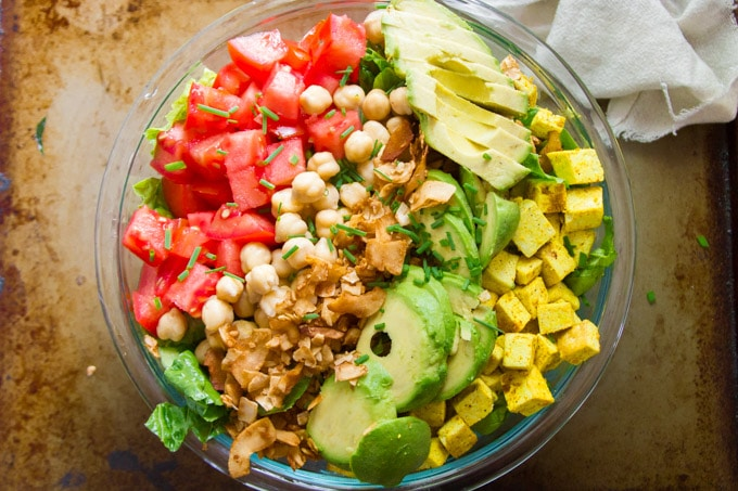 vegan cobb salad connoisseurus veg