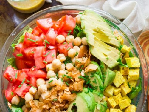 Vegan Cobb Salad Connoisseurus Veg