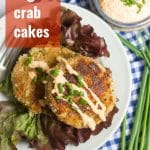 Vegan Crab Cakes with Sriracha Aioli