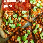 Barbecue Chickpea & Cauliflower Pizza