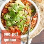 One-Pot Quinoa Chili