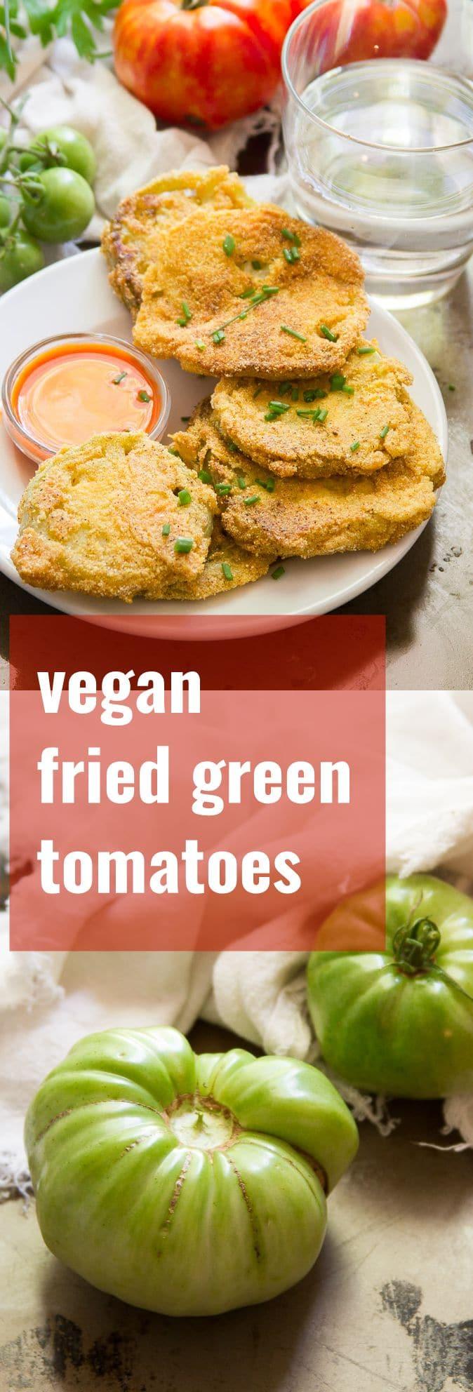Vegan Fried Green Tomatoes