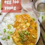 Vegan Egg Foo Young