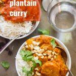 Smoky Tofu, Peanut Butter & Plantain Curry