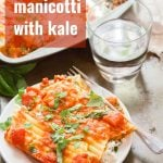 Vegan Manicotti with Blush Sauce & Kale