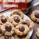 Vegan Peanut Butter Blossoms