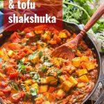 Vegan Tofu & Spinach Shakshuka