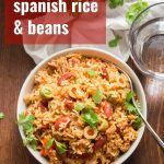 One-Pot Spanish Rice & Beans