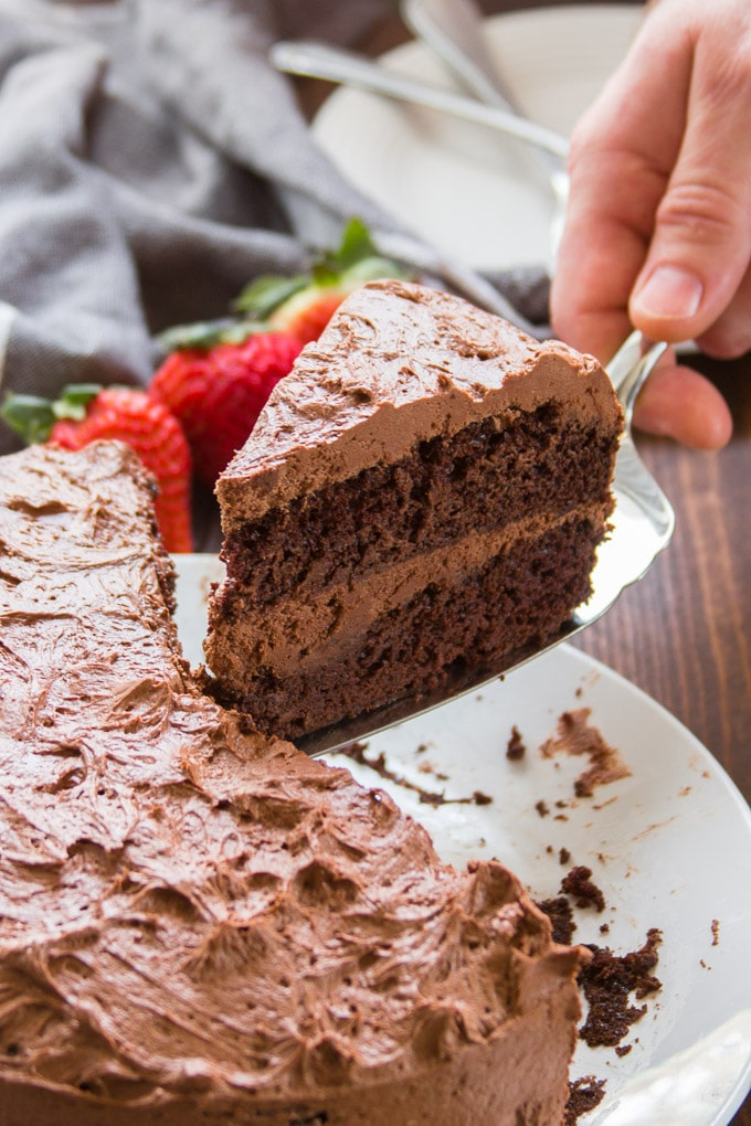 The Ultimate Vegan Chocolate Cake - Connoisseurus Veg