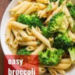 Easy Lemon Broccoli Pasta