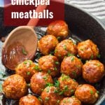 Firecracker Chickpea Meatballs