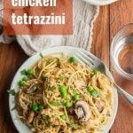 Vegan Chicken Tetrazzini
