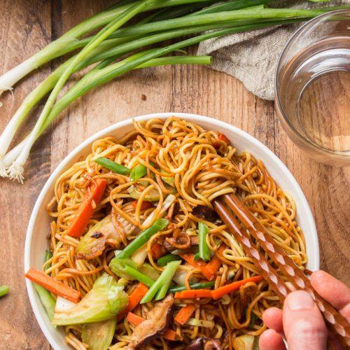 Vegetable Chow Mein Connoisseurus Veg