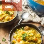 Curry Cabbage Soup