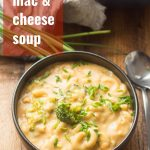 Vegan Mac & Cheese Soup