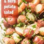 Dijon & Herb Potato Salad