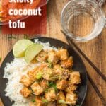 Sweet & Sticky Coconut Tofu