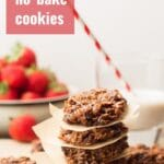 Vegan No-Bake Cookies