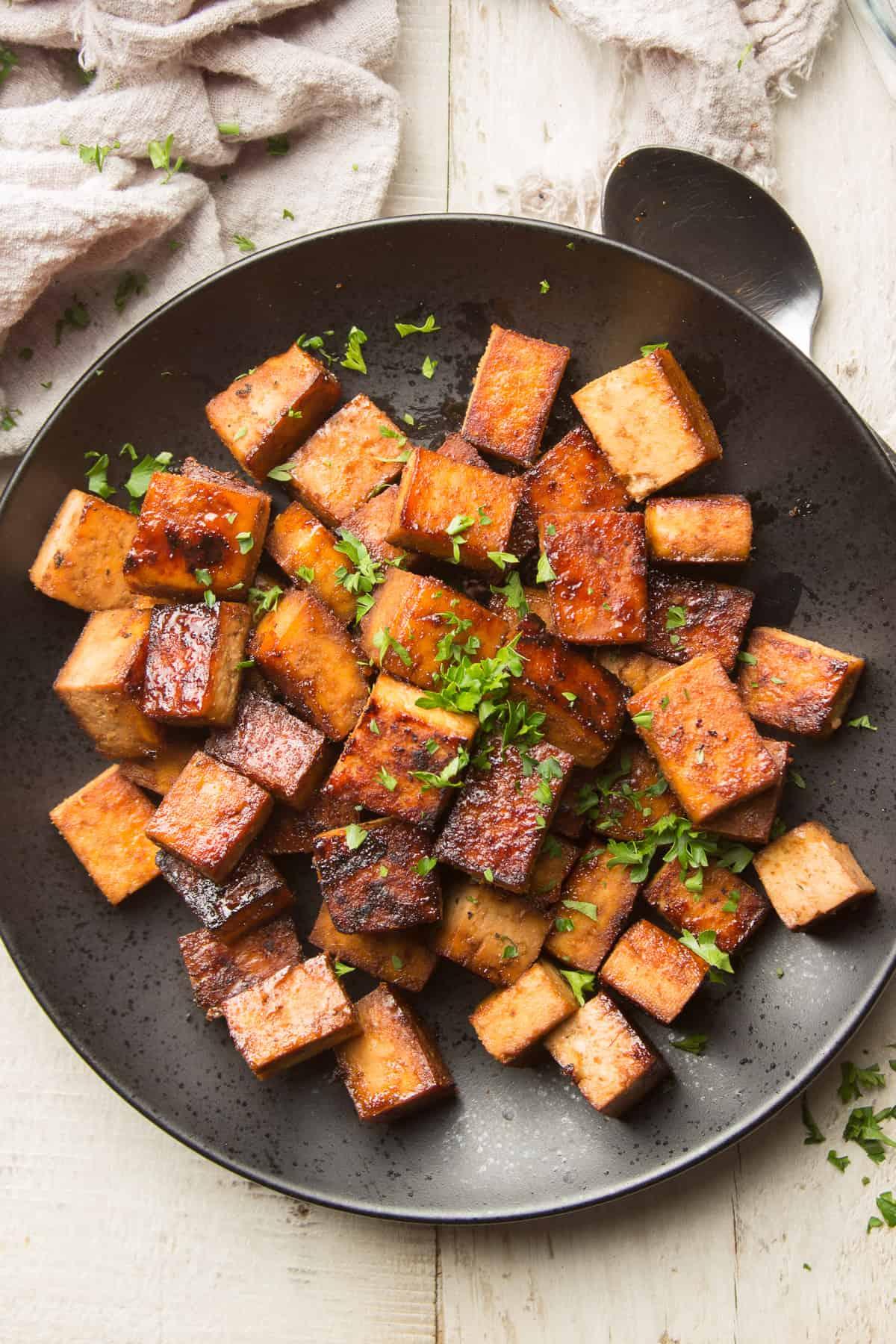 Sesame Ginger Marinated Tofu